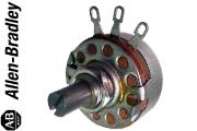Allen Bradley Type J Mono Potentiometers - short shaft