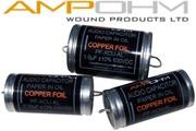 Ampohm Copper Foil Paper in Oil Capacitors
