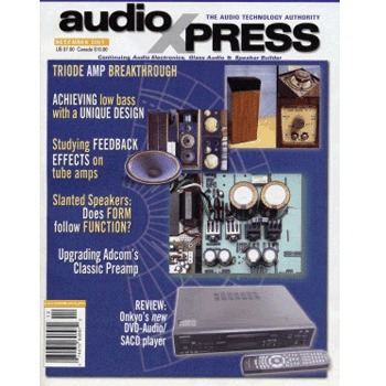 AudioXpress (vol.34 Issue.12) December 2003 Issue
