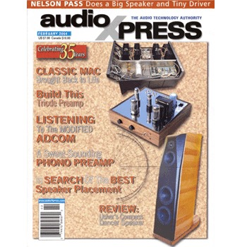 AudioXpress (vol.35 Issue.02) February 2004 Issue