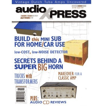 AudioXpress (Vol.36 Issue.01) January 2005 Issue