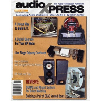 AudioXpress (Vol.34 Issue.03) March 2003 Issue