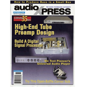 AudioXpress (vol.35 Issue.11) November 2004 Issue