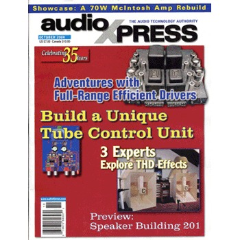 AudioXpress (vol.35 Issue.10) October 2004 Issue
