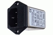 RF Filtered IEC Inlet Socket with Fuse