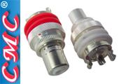 CMC-805-CU-AG double silver plate RCA sockets
