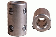 Shaft Coupler, for 6 - 6.35mm diameter shafts