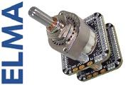 Elma A47 Series SMD stepped attenuator - STEREO version