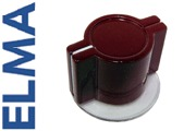 Elma - Marconi Classic British wing knob with skirt - BURGUNDY