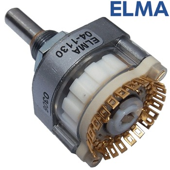 Elma 1 pole 24 way switch, 04-1133