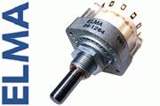 Elma 2 pole 6 way switch, 04-1264