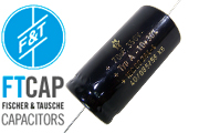 F&T Electrolytic Axial Type A Capacitors