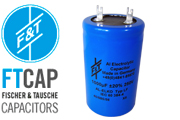 F&T Electrolytic Type LF Radial Capacitors
