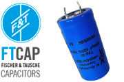 F&T Electrolytic Type SI Radial Capacitors