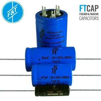 F&T Capacitors New Values