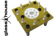 Glasshouse Octal/UX4 valve holder board