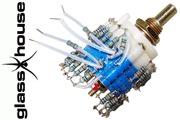 Glasshouse Stepped Attenuator, 0.25W Takman metal film resistor, Shunt version