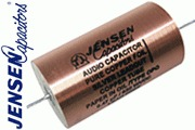 Jensen Copper Foil, Paper in Oil, in a Copper can Capacitors