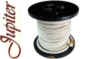 Jupiter 8-Strand AWG 28 Copper, Braid Double-Cotton Insulated Cable