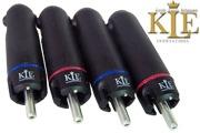 KLE Innovations Silver Harmony RCA Plug