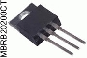 MBRB20200CT Dual Schottky Diode