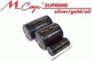 Mundorf MCap Supreme Silver Gold Oil Capacitors
