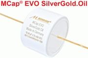 Mundorf MCap EVO Silver Gold Oil Capacitors