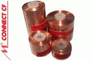 Mundorf Copper Foil - 17mm, 28mm, 44mm & 70mm width