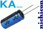 Nichicon KA electrolytic capacitors