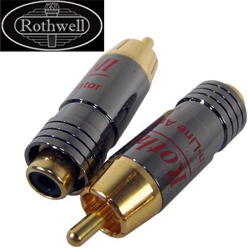 Rothwell In-Line Attenuator, standard -10dB version (pair)