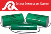 SCR Teflon Tin Foil Capacitors