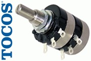 Drawing of the Tocos Cosmos RV24 potentiometer