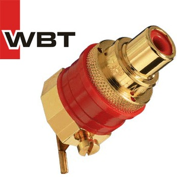 WBT-0274 Midline RCA board mounted RCA socket