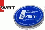 WBT-0800 4% silver solder, 0.9mm diameter, 42g reel.